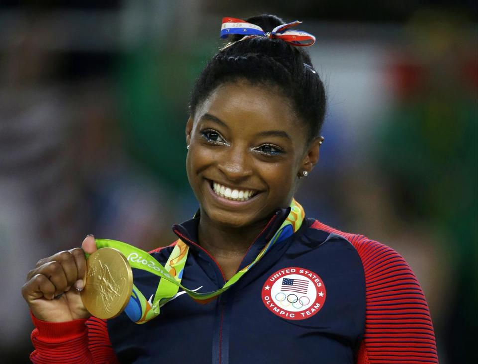 US gymnast Simone Biles, who won four gold medals at the Rio de Janeiro Games, said Monday she was sexually abused by former Team USA doctor Larry Nassar.