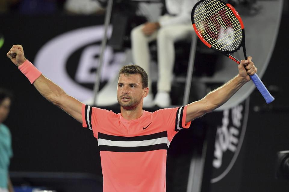 Australian Open: Grigor Dimitrov scrapes into third round after beating Mackenzie McDonald
