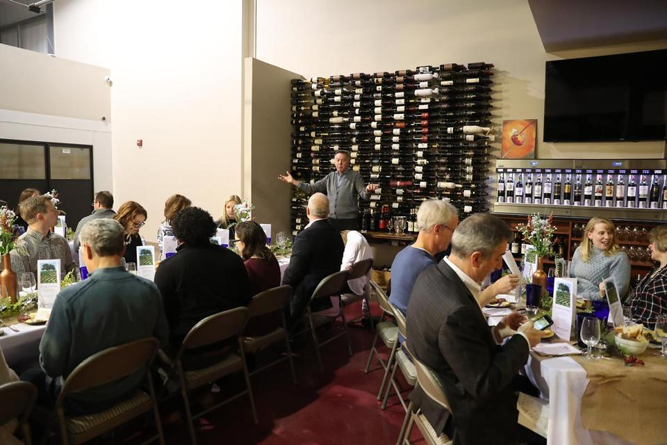Jonathon Alsop of the Boston Wine School in action at VINOvations.