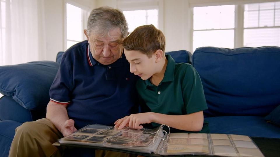 "In ""The Number on Great-Grandpa's Arm"" Jack Feldman, 90, tells 10-year-old Elliott about being in a concentration camp when he was 14."
