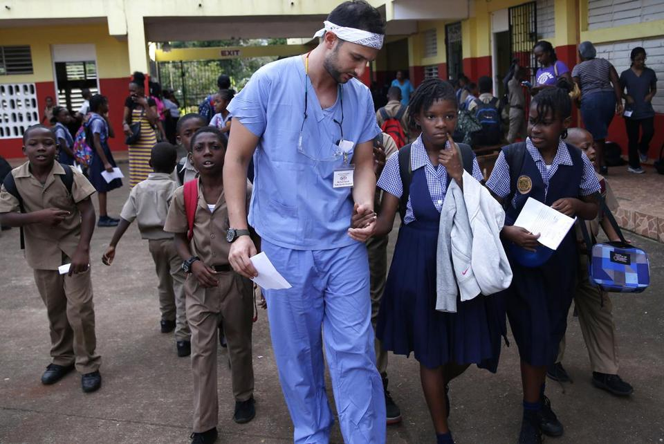 In rural Jamaica, dentists tend to the poor