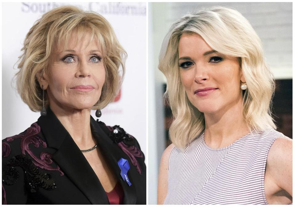 Jane Fonda criticised by United States  newswoman over interview complaints