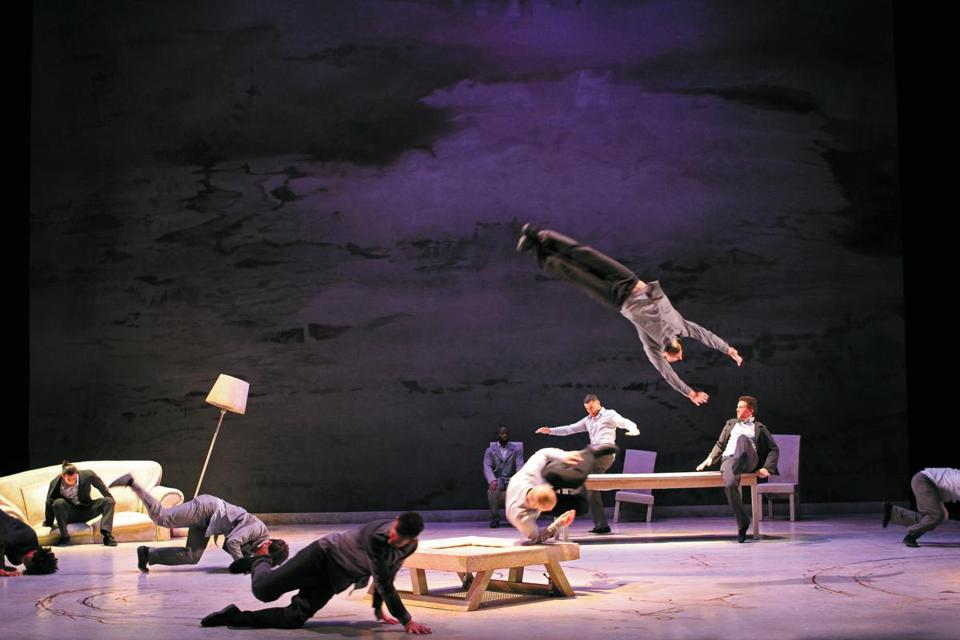 "Compagnie Accrorap presents Kader Attou's ""The Roots"" at the Boch Center Shubert Theatre."