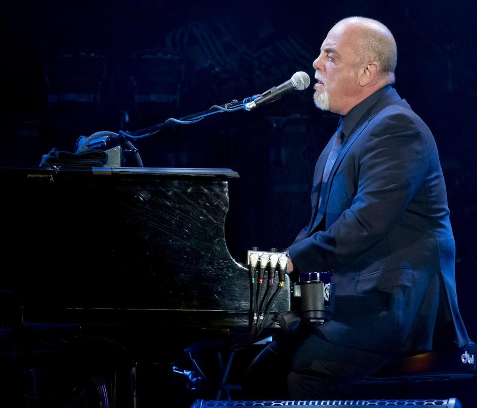 Boston, MA 6/26/2014 Billy Joel (cq) in concert at Fenway Park on Thursday June 26, 2014. (Matthew J. Lee/Globe staff) Topic: 27joel Reporter: Sarah Rodman