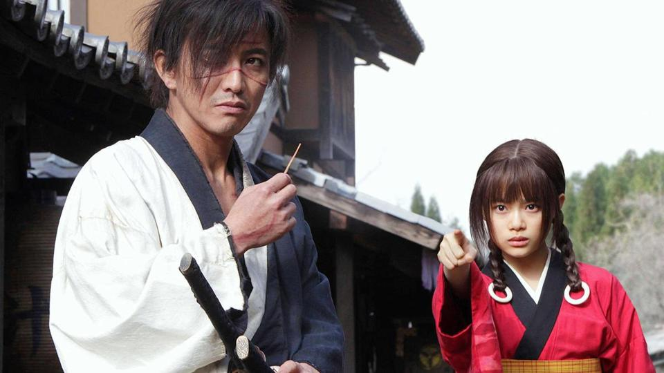 "A scene from the 2017 film ""Blade of the Immortal,"" directed by Takashi Miike."