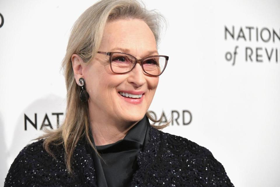 Meryl Streep in New York earlier this month.