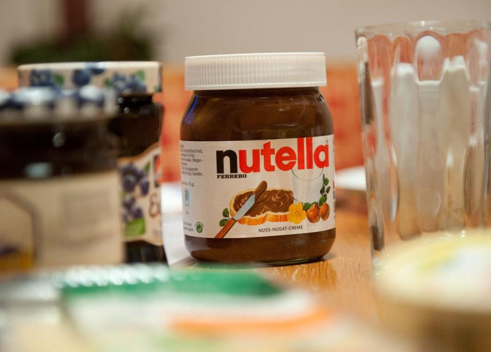 French shoppers go nuts over Nutella sale