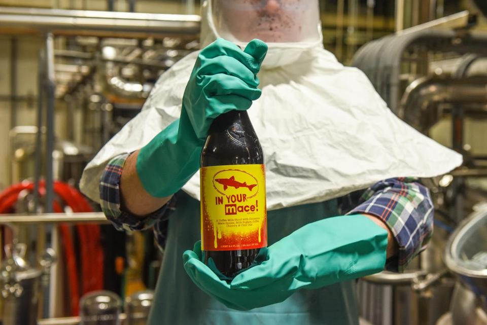 "Dogfish Head Brewery's ""IN YOUR MACE!"""