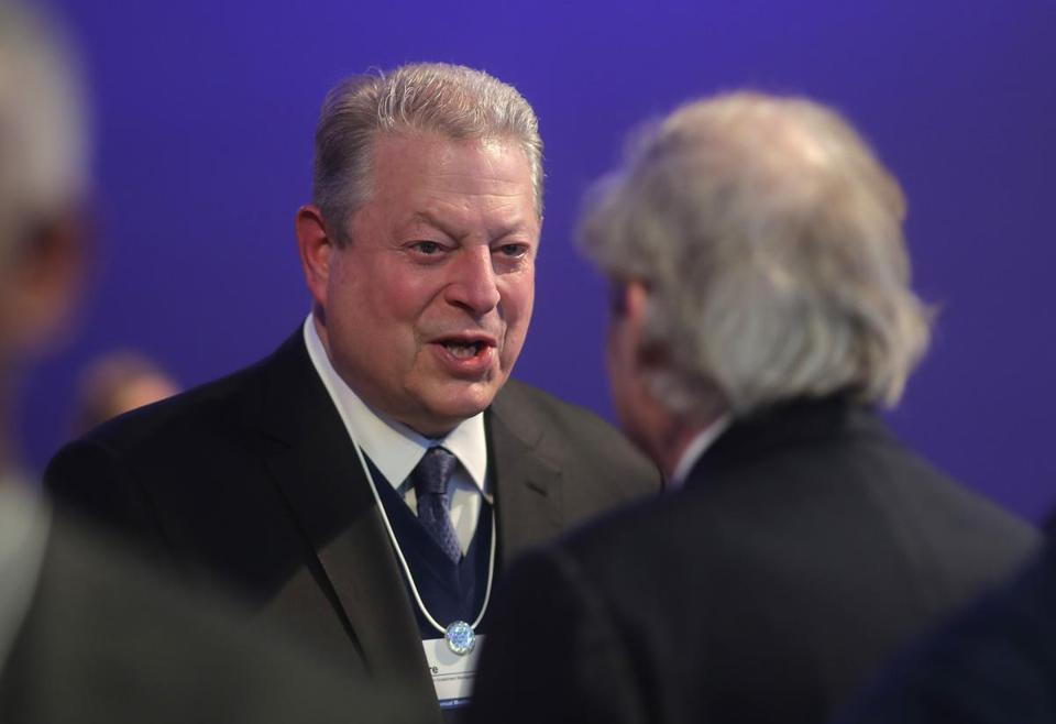 Former Vice President Al Gore will appear Wednesday at Tufts University.