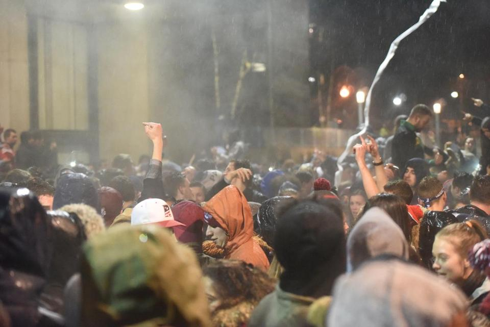 UMass reviewing post-Super Bowl disturbance on campus, police to file charges