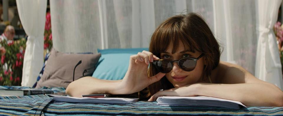 "Dakota Johnson in ""Fifty Shades Freed."""