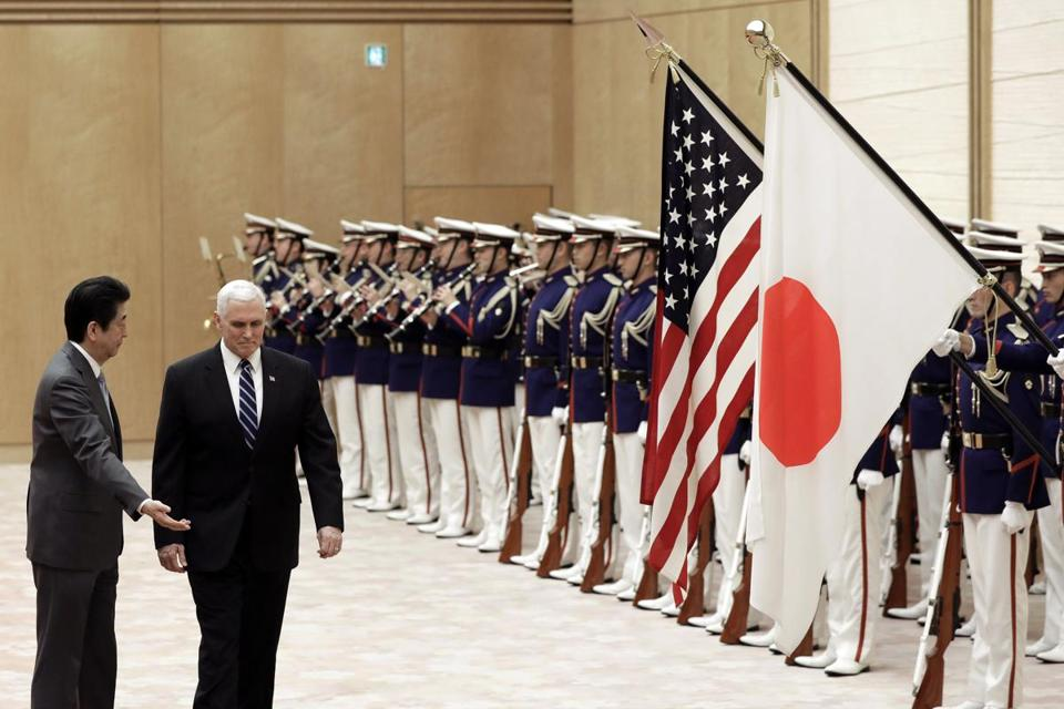 Pence says U.S. to unveil toughest-yet sanctions on North Korea