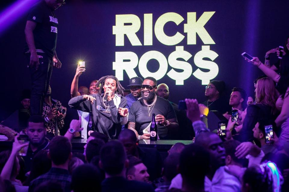 Rick Ross performing at The Grand.