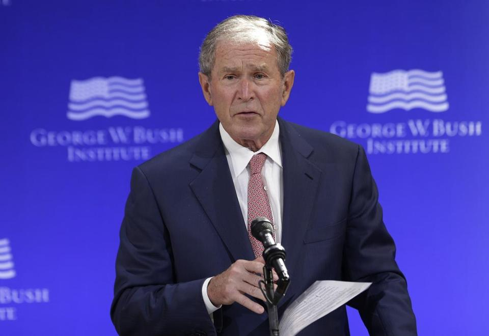 George W. Bush says Russian Federation meddled in 2016 United States presidential poll
