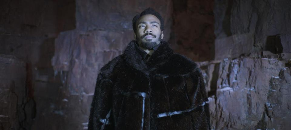 "Donald Glover is Lando Calrissian in ""Solo: A Star Wars Story,"" directed by Ron Howard."