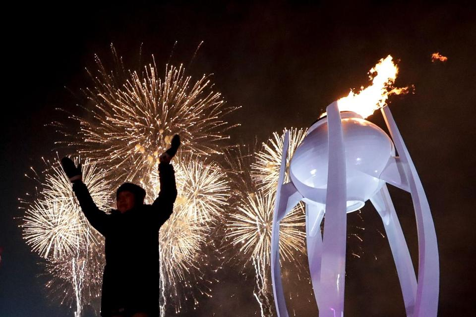 South Korea Olympic Games opening ceremony