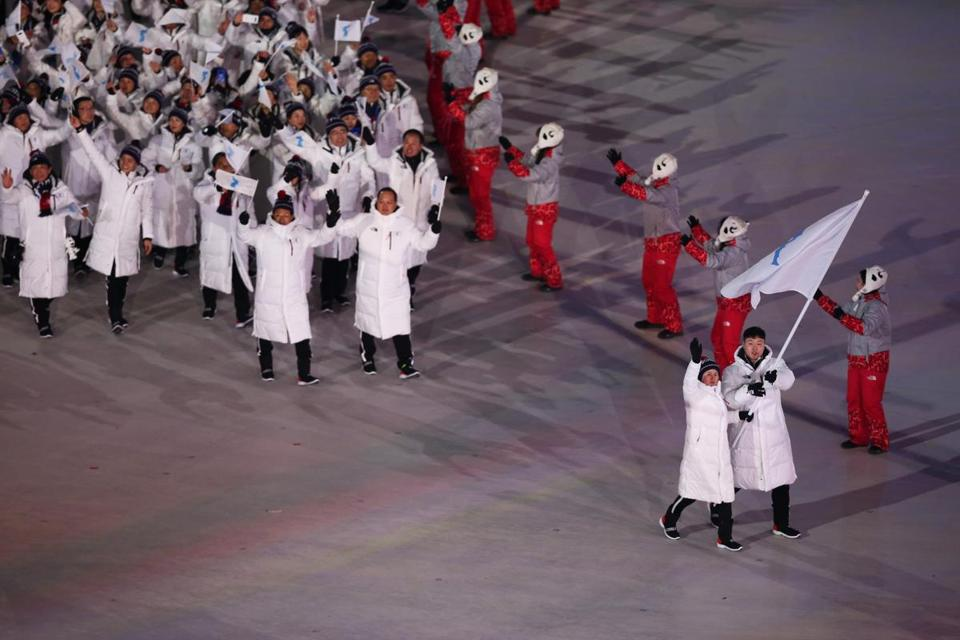 Kim Jong Un impersonator kicked out of Olympics hockey game