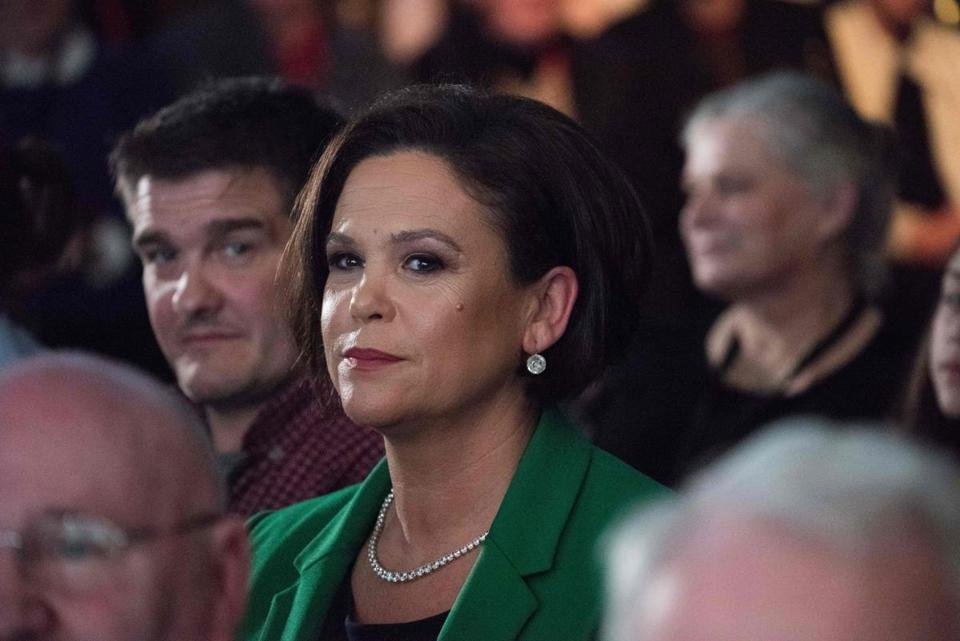 Mary Lou McDonald to become Sinn Fein president