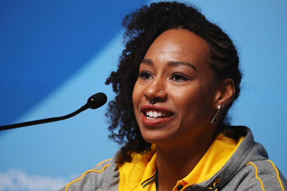 Jamaican bobsleigher Jazmine Fenlator-Victorian brings a message of inclusion to the Winter Games.