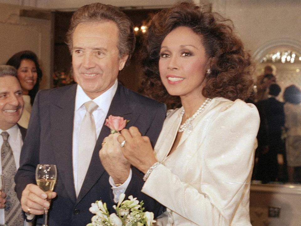 Mr. Damone was married several times, including to actress Diahann Carroll.