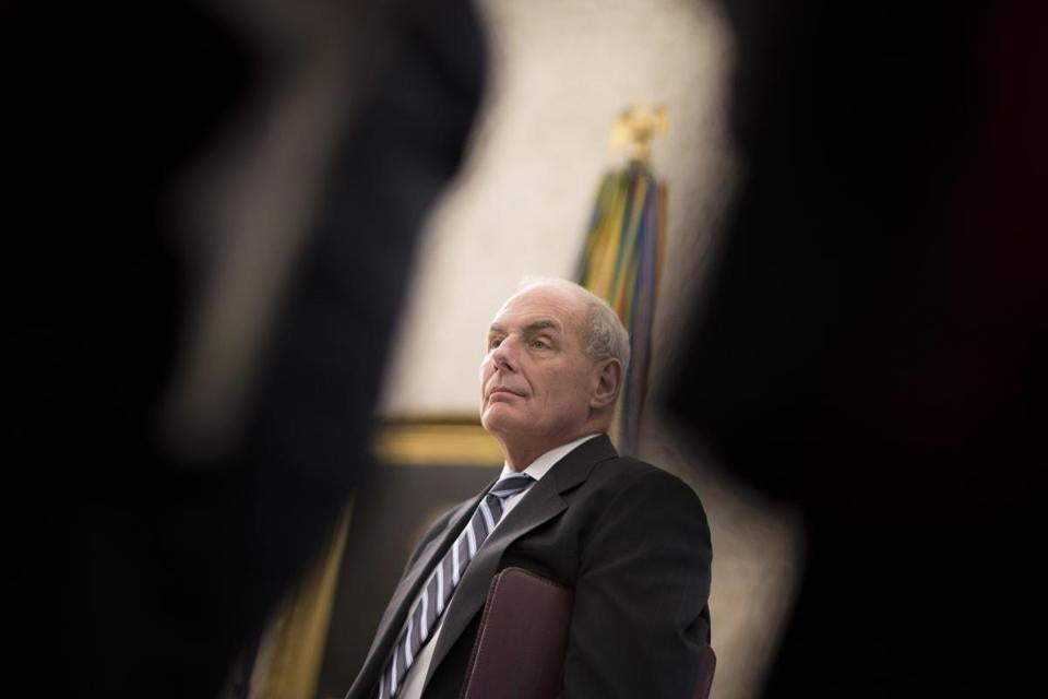 Though his joining the Trump administration may very well have been motivated by his sense of duty to country, John Kelly became caught up in and distracted by the daily chaos and melodrama that is the Trump White House, columnist Kevin Cullen writes.