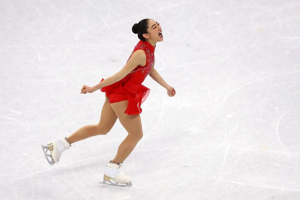 Olympics - Figure skating-US sensation Tennell cool as ice