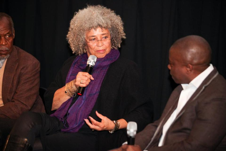 Angela Davis is an academic and author known for her work on racial and gender justice.