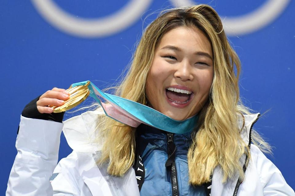 Chloe Kim chatted about her win over some of her favorite foods Tuesday on the Today show.