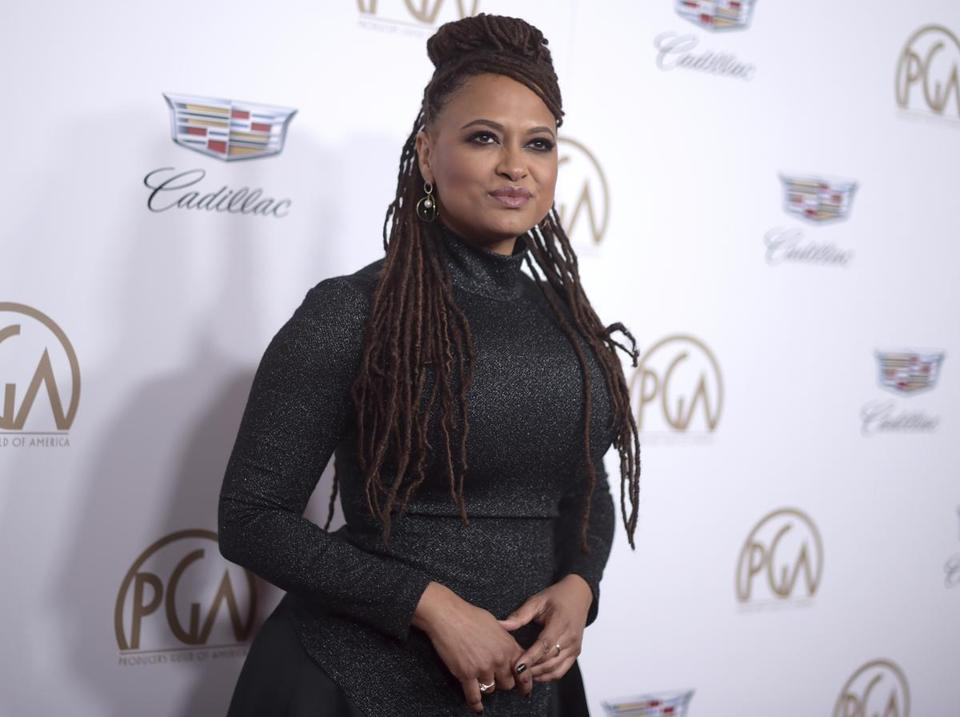 Ava DuVernay arrives at the 29th annual Producers Guild Awards at the Beverly Hilton on Saturday, Jan. 20, 2018, in Beverly Hills, Calif. (Photo by Richard Shotwell/Invision/AP)