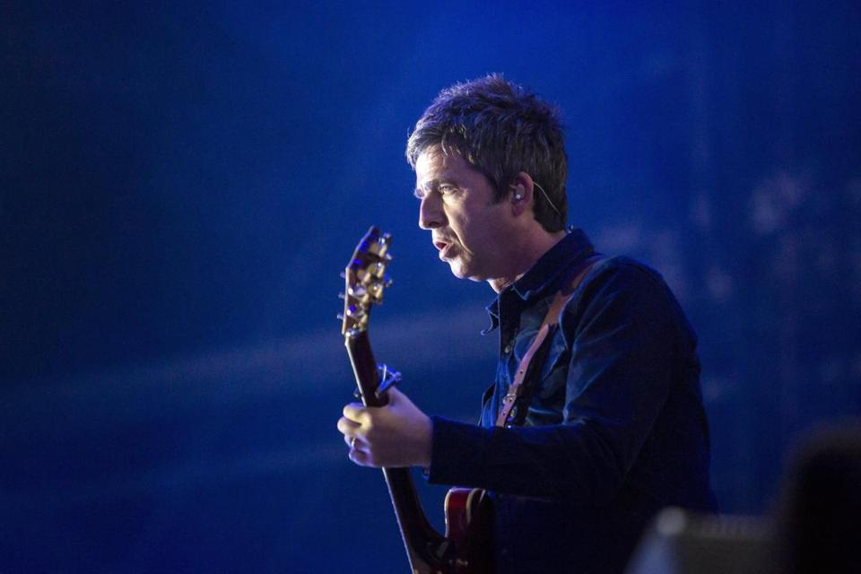 Noel Gallagher (shown in Hungary in 2016) brought his High Flying Birds to the Boston Opera House Saturday.