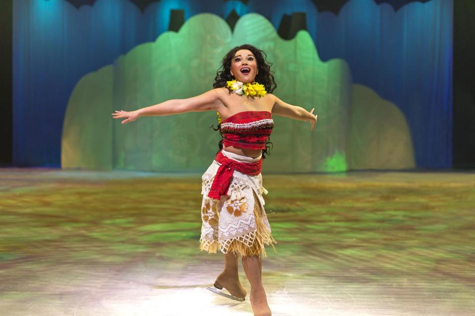 Disney On Ice presents Dare to Dream. Pictured: Moana.