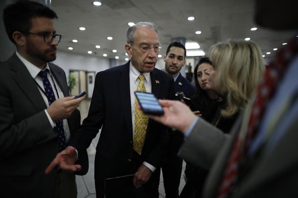 Immigration Push Hits A Wall As Senate Deadline Nears