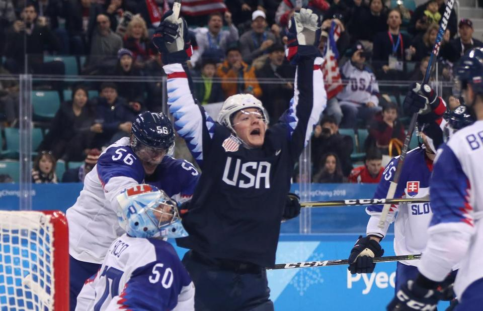 Winter Olympics: Youth leads United States men's hockey team against Russian Federation on Saturday