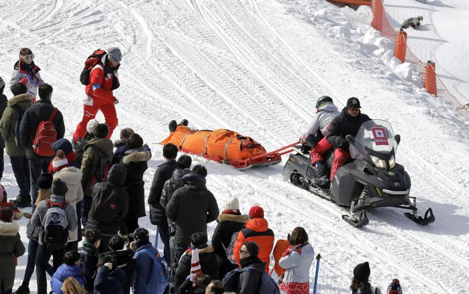 Austrian Snowboarder Markus Schairer Breaks Neck After Terrifying Crash