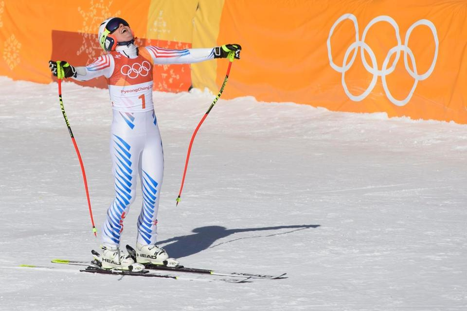 Mikaela Shiffrin relaxed after pulling out of Olympic downhill race