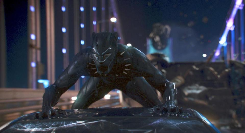 Black Panther shreds box office records with $218 million 4-day opening