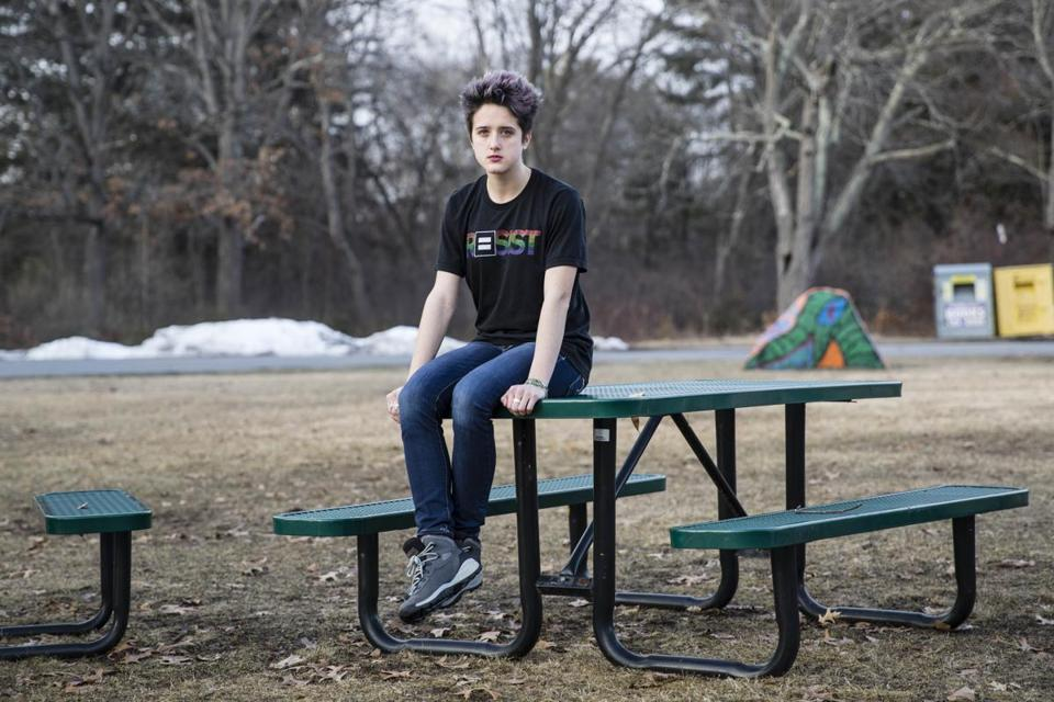 Riley Korhonen said she wants to see tougher restrictions on who can purchase a gun and a ban on semiautomatic weapons.