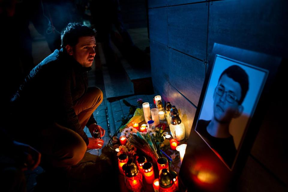 Slovak Police Say Journalist's Murder Was Probably Over Story
