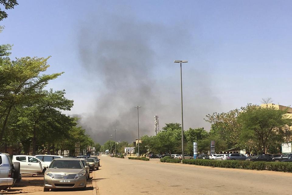 Quartet who attacked French embassy in Burkina Faso killed