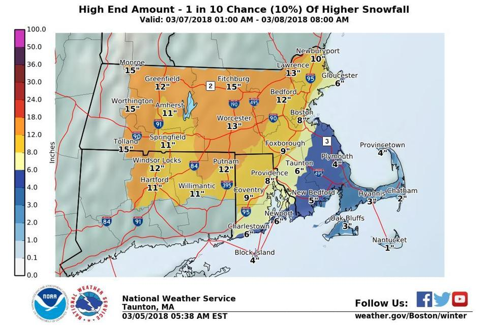 Looming Nor'easter to Drop the Other Shoe on East Coast