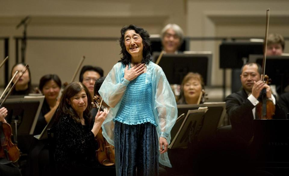 Pianist Mitsuko Uchida will be at the Marlboro Music Festival, which starts July 14.