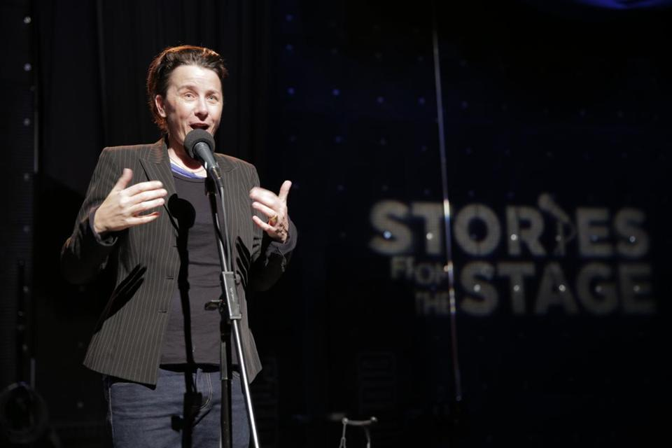 Melissa Ferrick performs at the WGBH Stories from the Stage series.
