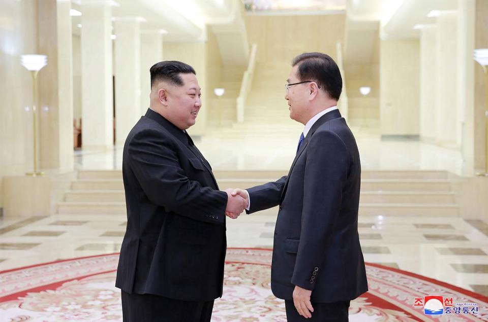 Trump cites 'possible progress' over North Korea's willingness to talk