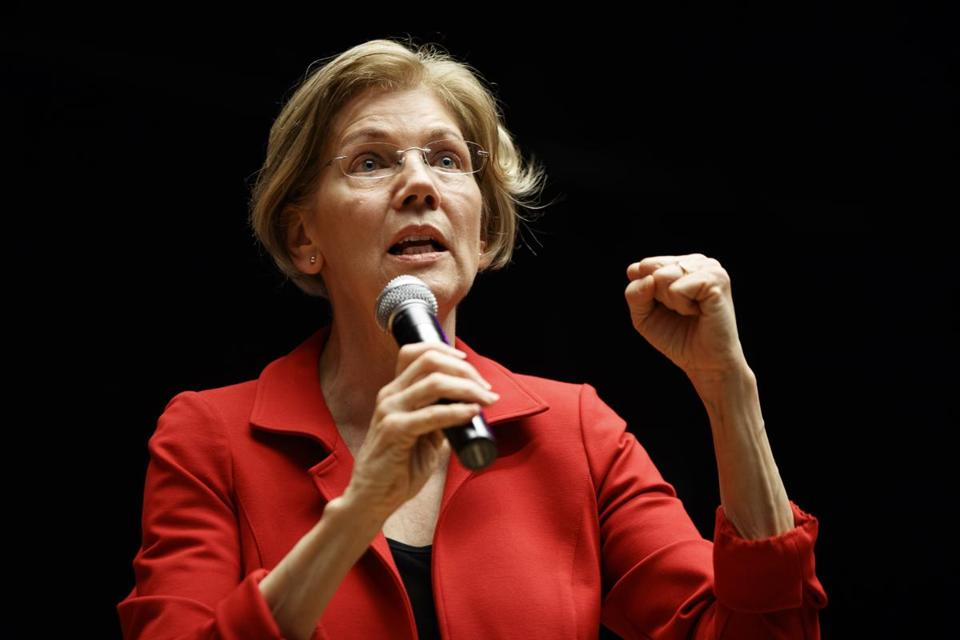 Warren: 'I'm not running for president'