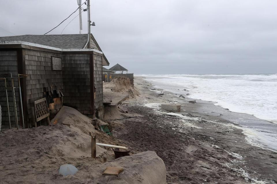Liam's has been a staple for visitors to Orleans for decades since it opened in the 1950s, but a storm that ravaged the beach last weekend caused extreme erosion.
