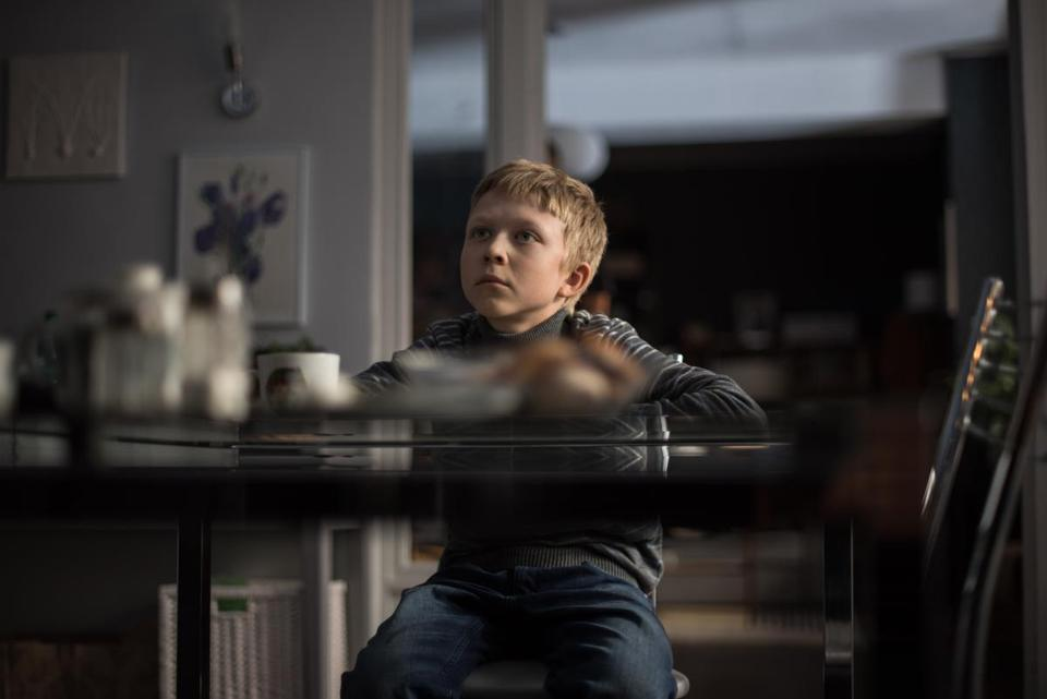 "Matvey Novikov as the young boy who goes missing in ""Loveless."""