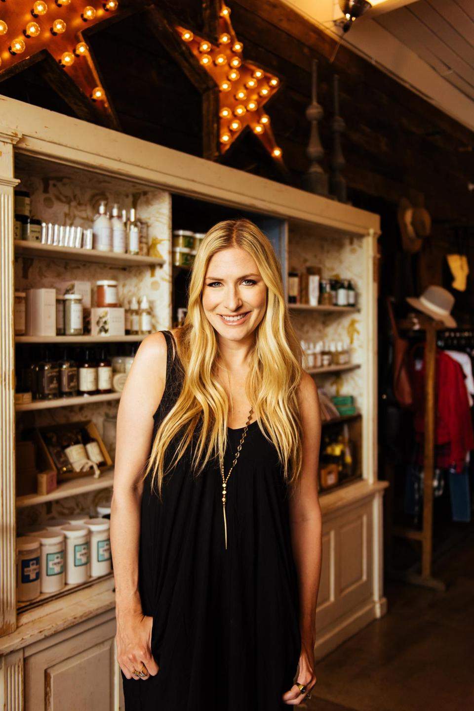 Singer-songwriter Holly Williams owns White's Mercantile, a Nashville take on a general store.