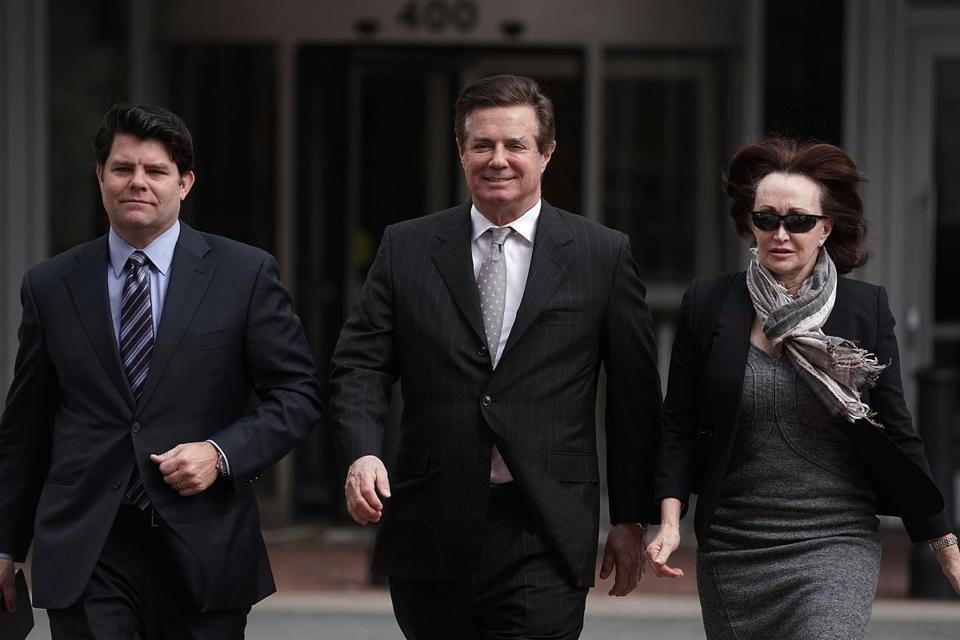 Manafort pleads not guilty at arraignment in Russian Federation probe
