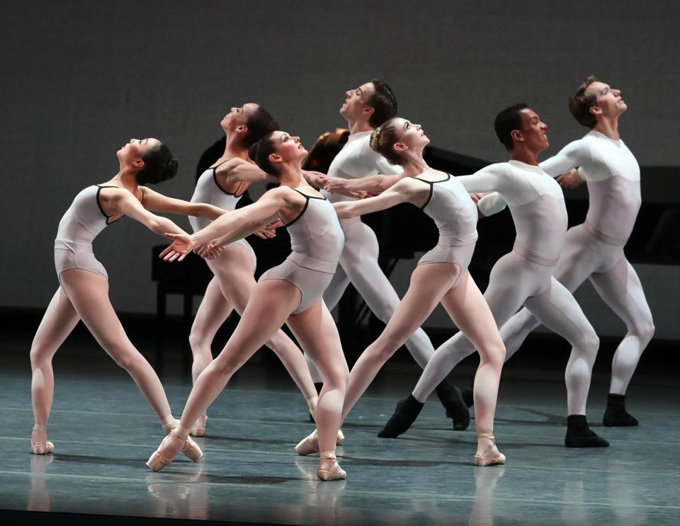 "Boston Ballet dancers performed Justin Peck's ""In Creases."""