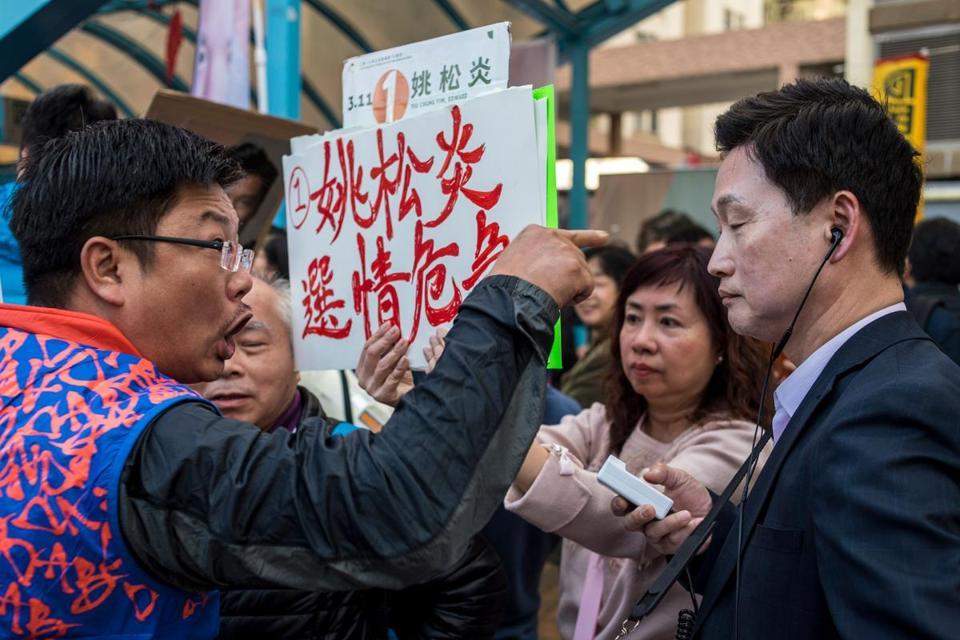 Hong Kong's pro-democracy campaign endures election setback